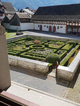 Nafels, Swiss: Hofgarten des Museums