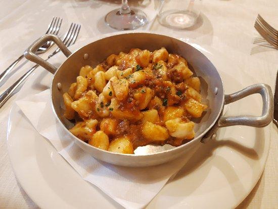 Valbruna, Włochy: GNOCCHI FATTI IN CASA