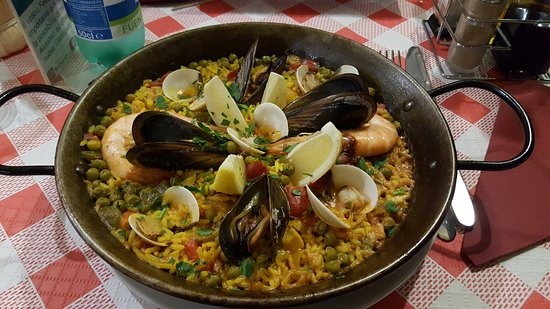 Ted Ristobar - Playa Fañabé: Paella