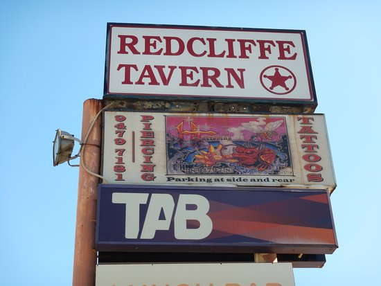 Redcliffe Tavern (Street Sign)