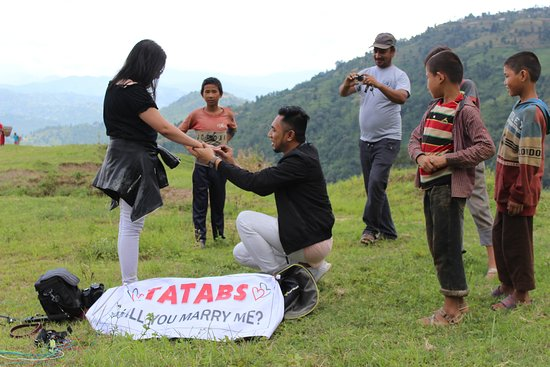 Nagarkot Everest View Paragliding: She said Yes!