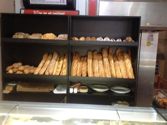 panes de masa madre
