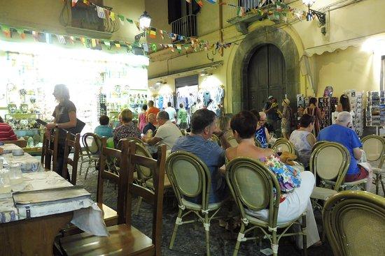 Manneken Pis Cafe: View from restaurant