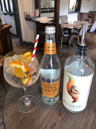 Bears Paw Country Inn & Restaurant: Our Seedlip Non-Alcohol Gin with Clementine Tonic