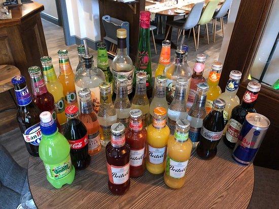 Bears Paw Country Inn & Restaurant: Our Non-Alcoholic Seletcion