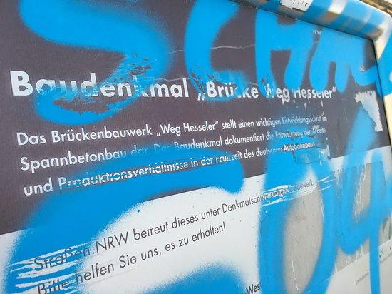 """Brückenbaudenkmal A2 """"Hesseler"""""""