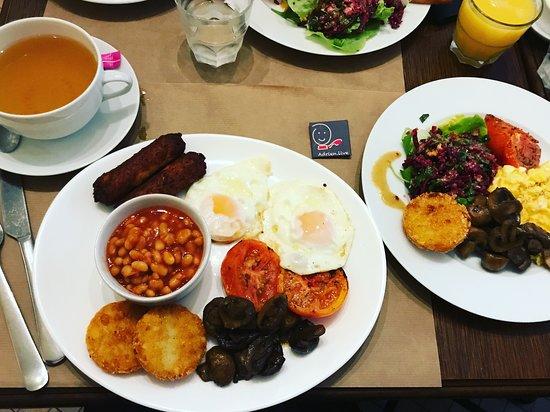 The Breakfast Club: Brunch Végétarien revisité pour mes intolérances alimentaires