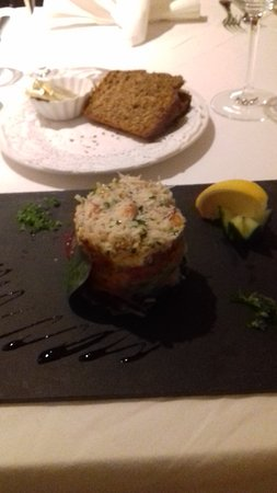 Tullycross, Irlanda: Crab starter