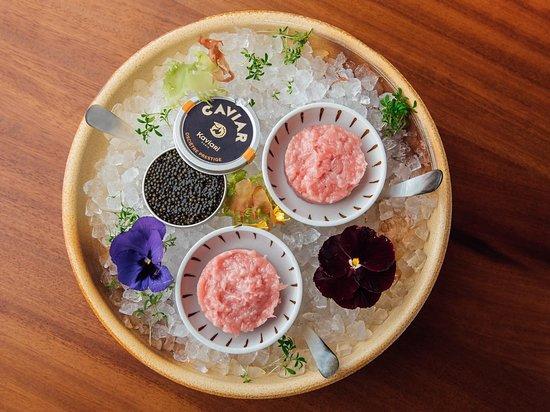 Emirate of Abu Dhabi, United Arab Emirates: Toro Tartar with Caviar