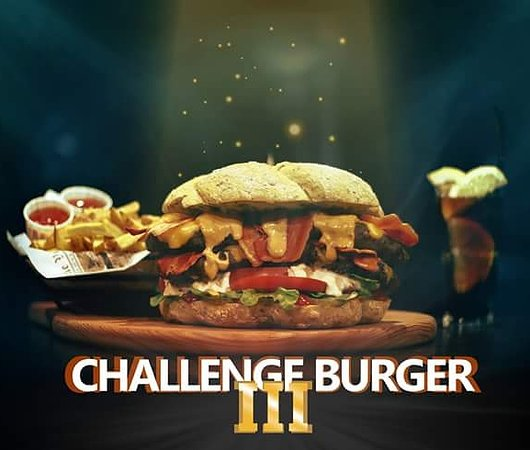 Players Sports Bar: Challenge Burger vol. 3