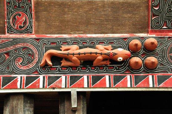 Sidan, Indonesia: Fassadenverzierung