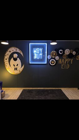 Celebrating Eid! :) - Picture of Way Out Kuwait, Kuwait City