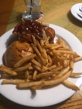 Conshohocken, PA: Dockside Burger With Fries