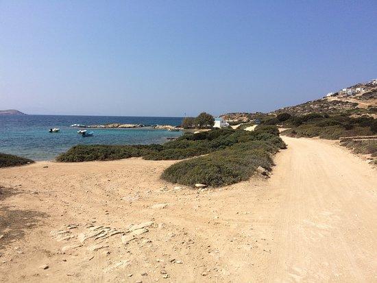 Agios Georgios, Greece: spiaggia