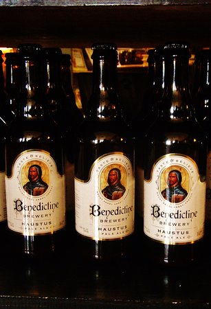 Mount Angel Abbey: Bottles of Haustus Pale Ale for $7 a bottle