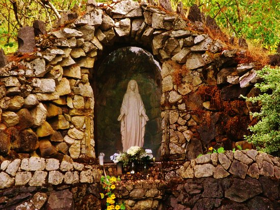 Mount Angel Abbey: Grotto Of Mary