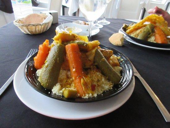 Vin Blanc Sec Marocain Picture Of Le 20 Restaurant Agadir