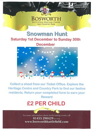 Sutton Cheney, UK: Snowman Hunt