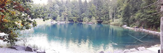 Blausee-Mitholz, Switzerland: lago