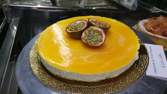 Cavernago, Włochy: Cheesecake fruit passion