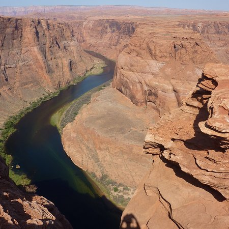 Horseshoe Bend: Magnifique point de vue sur méandre du Colorado