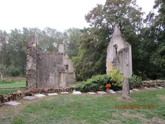 Minster Lovell, UK: View from the church.
