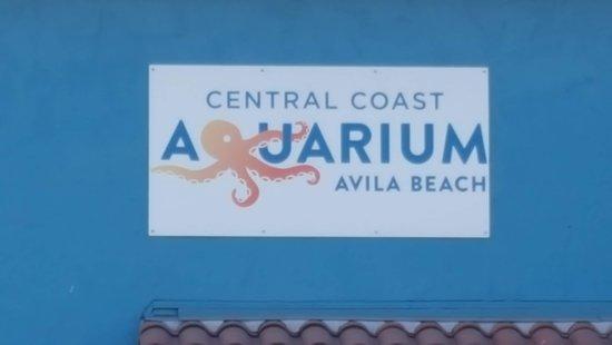 Central Coast Aquarium: Aquarium Signage