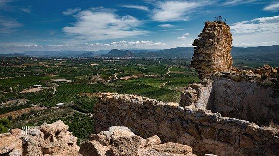 Vista de la Costera desde el Castillo de Montesa