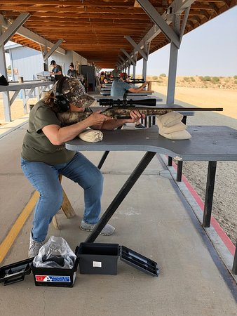 Black's Creek Public Shooting Range: Happy shooters at Sight In day, September 8th at BCR.