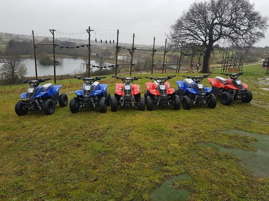 Ware, UK: New for 2018 kids petrol quads for ages 8 - 11 yrs. Quad Birthday Parties available