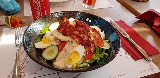 Versoix, Swiss: Caesar salad