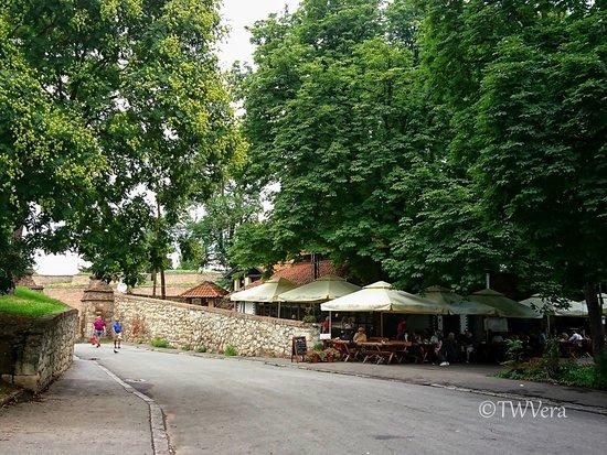 Mali Kalemegdan restaurant, Belgrade, Serbia