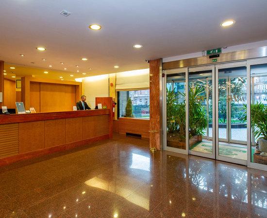 Front Desk at the Hotel Raffaello