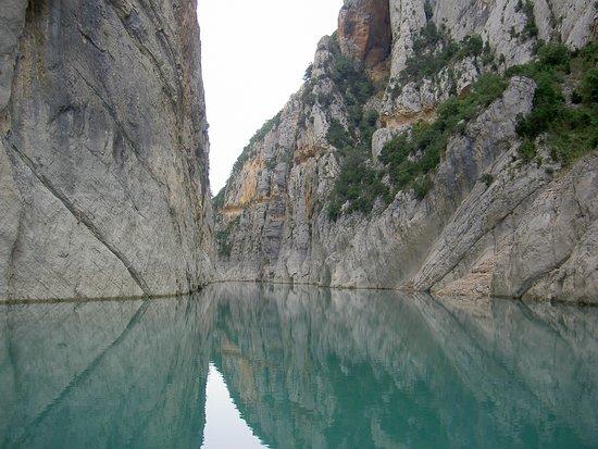 Camarasa, Espanha: paseo en kayak por el pantano