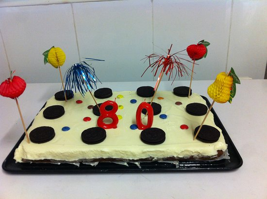 Camarasa, إسبانيا: pastel celebracion