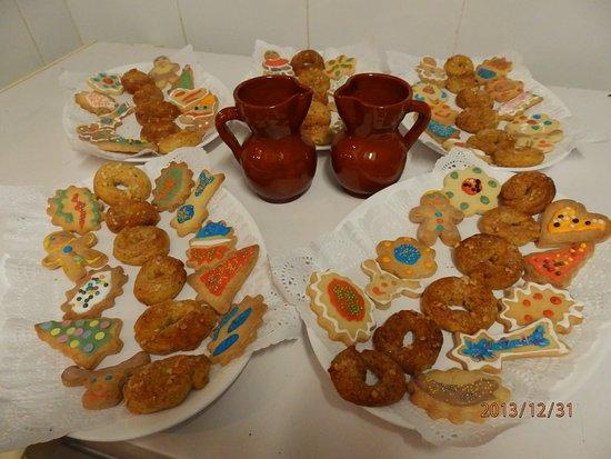 Camarasa, Espanha: galletas de navidad
