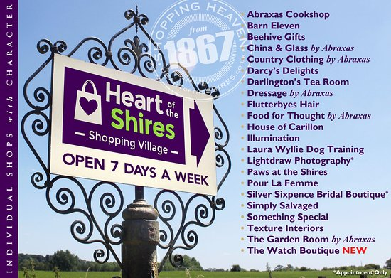 Heart of the Shires Shopping Village