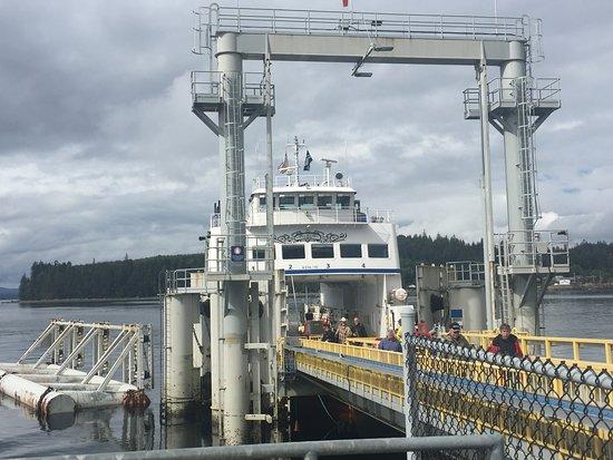 Alert Bay, Canada: ferry to U'mista