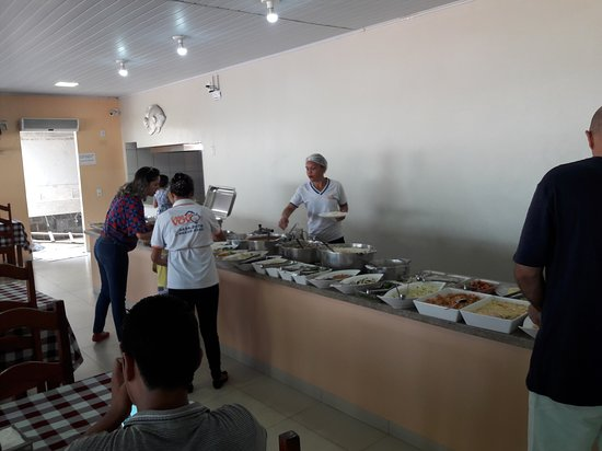 Ourilandia Do Norte, PA: Buffet variado
