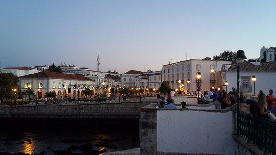 os arcos: desde la terraza
