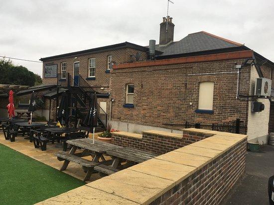 Broadmayne, UK: Doesn't do the Black Dog justice