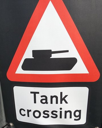 Broadmayne, UK: Bovington tank museum Approx. 15 minutes drive away from the Black Dog
