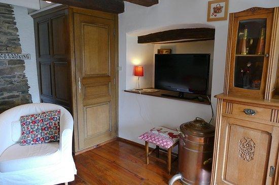 Sainte-Ode, Belgia: Salon commun au 1er étage