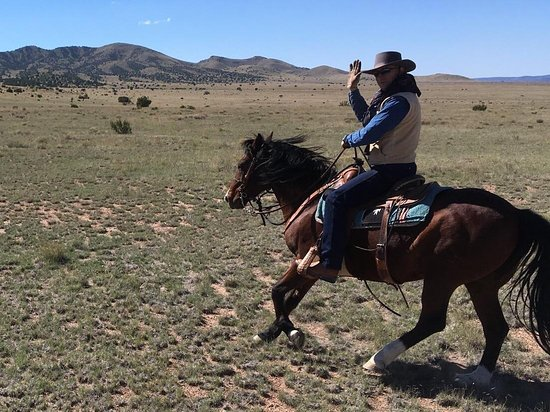 Magdalena, Нью-Мексико: I had a wonderful riding experience at Concho Hills