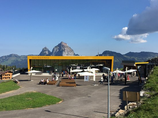 Stoos, Switzerland: Endstation Stoss
