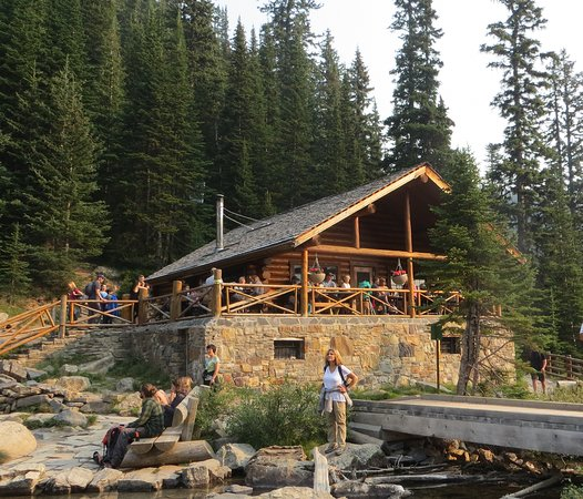 Lake Agnes Tea House: Tea house