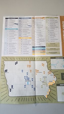 Glenwood, IA: Brew map