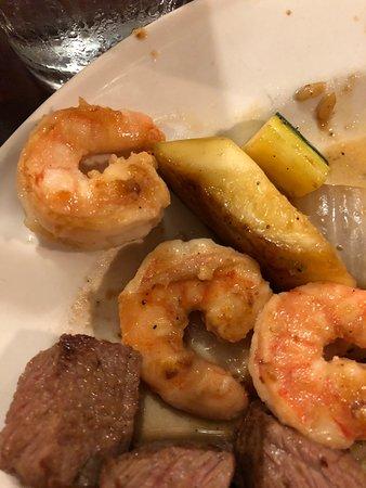 Urbandale, IA: Teppan grilled shrimp
