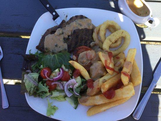 Totton, UK: The Rump Steak tasted nice.....