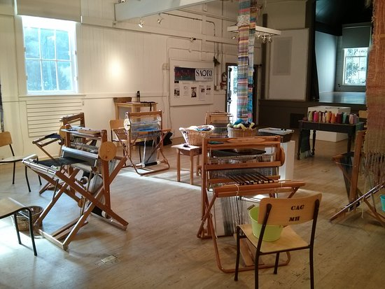 Salt Spring Island, Canada: Workshop set up through the Salt Spring Arts Council
